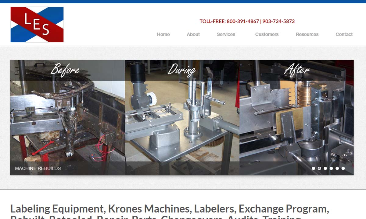 Labeling Equipment Specialists, Inc.