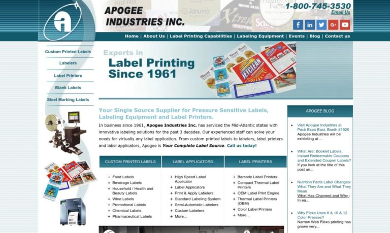 Apogee Industries Inc.