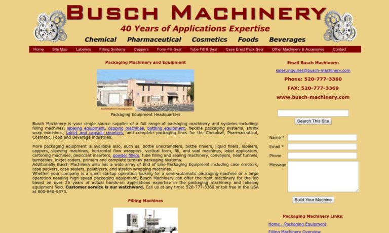 Busch Machinery