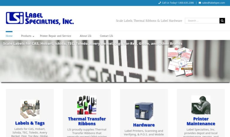 Label Specialties, Inc.