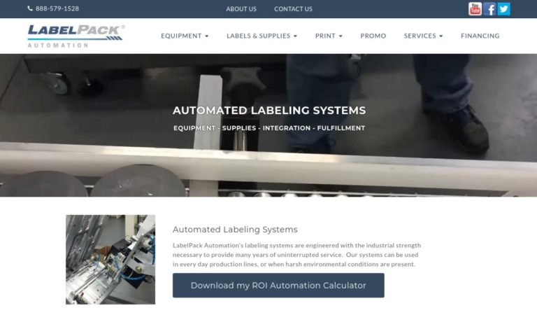 Label Pack Automation, Inc.