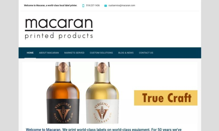 Macaran Printed Products