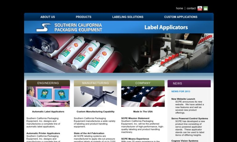 Southern California Packaging Equipment Inc.