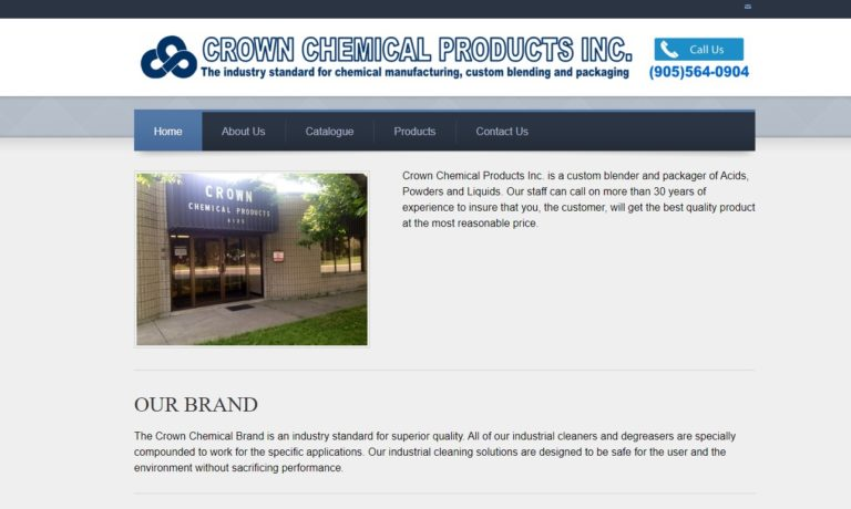 Crown Chemical Products Inc.